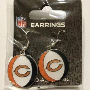 Chicago Bears NFL Dangle Earrings